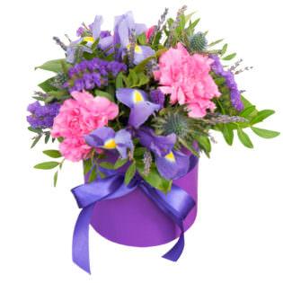 Цветы в коробке «Первая леди»